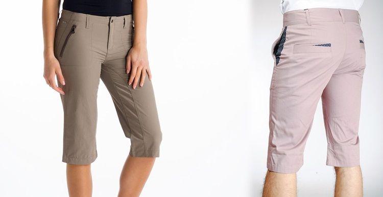 Виды брюк - Капри