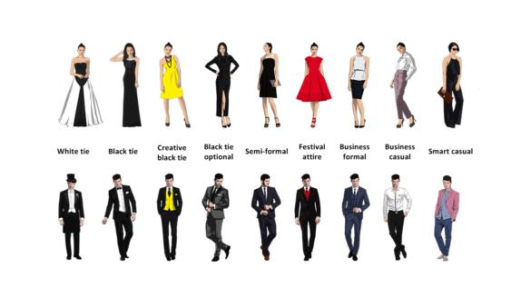 Все виды дресс-кода