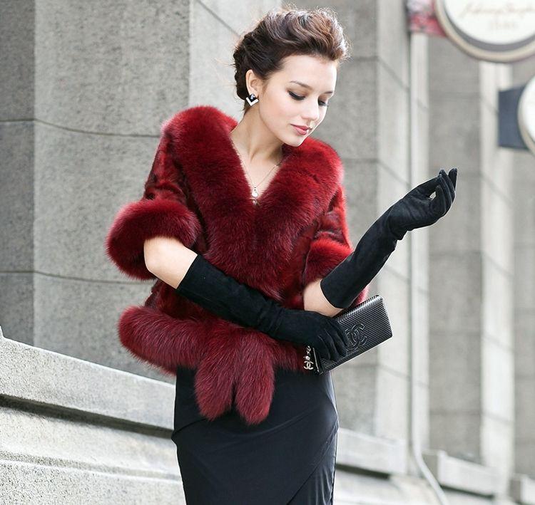Женские вечерние перчатки