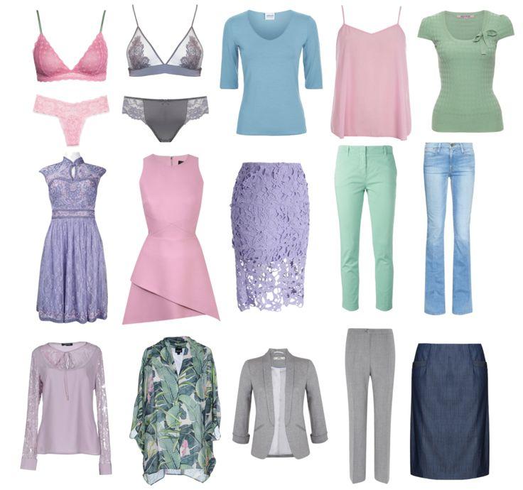 Одежда для цветотипа лето - фото 1