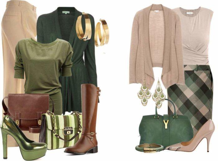Одежда для цветотипа осень - фото 1