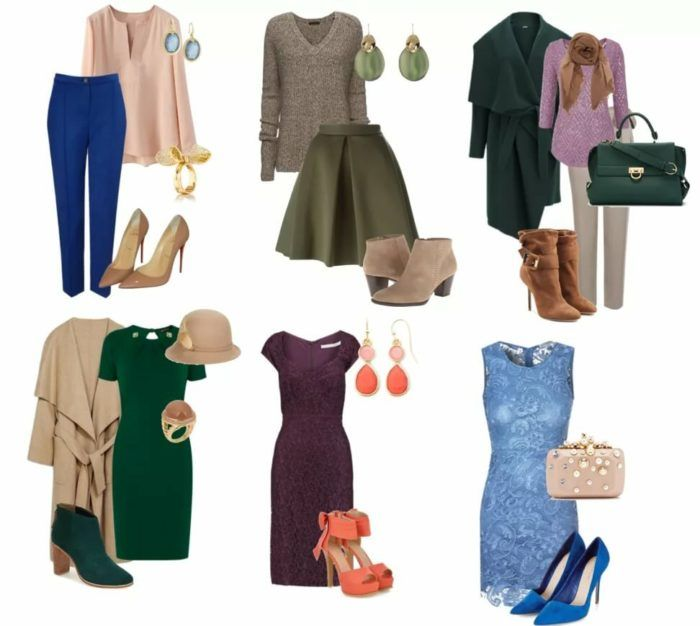Одежда для цветотипа осень - фото 3