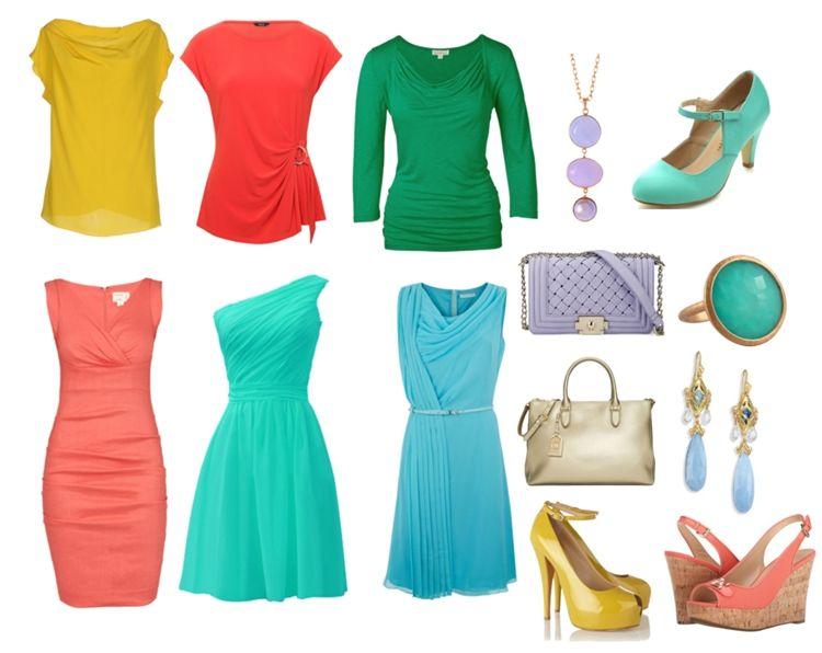 Одежда для цветотипа весна - фото 1