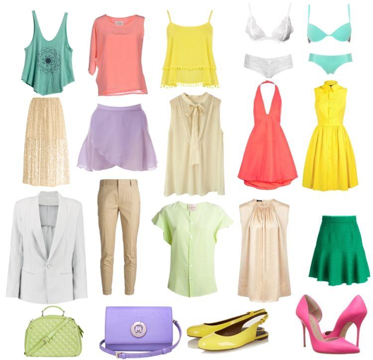 Одежда для цветотипа весна - фото 2
