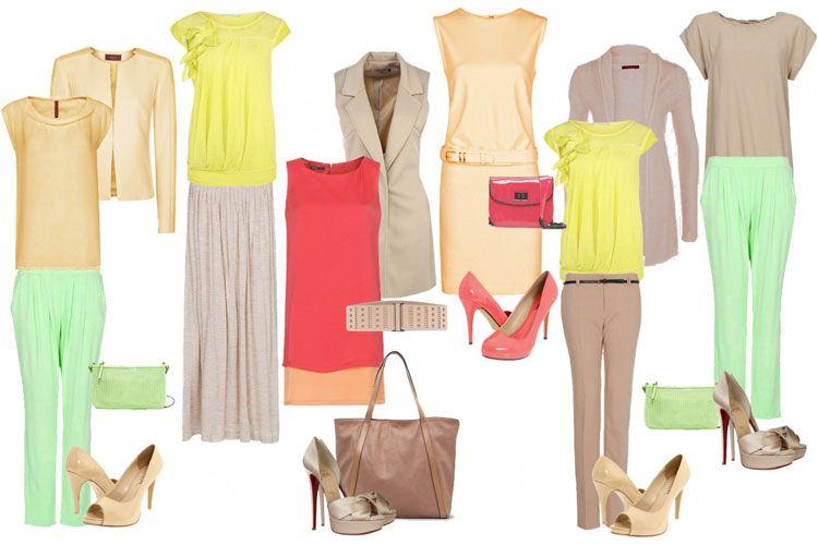 Одежда для цветотипа весна - фото 3