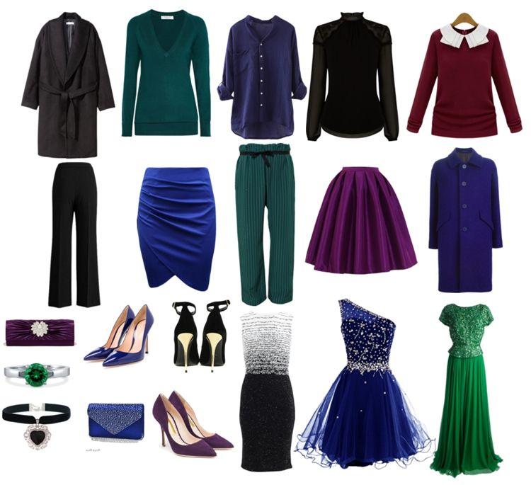 Одежда для цветотипа зима - фото 1