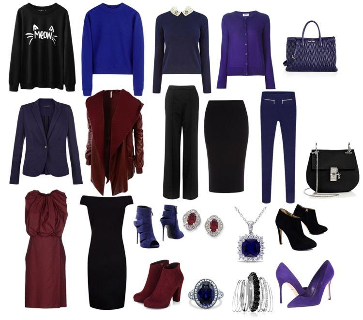 Одежда для цветотипа зима - фото 2