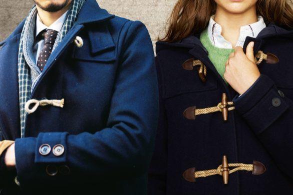 Пальто дафлкот - фото