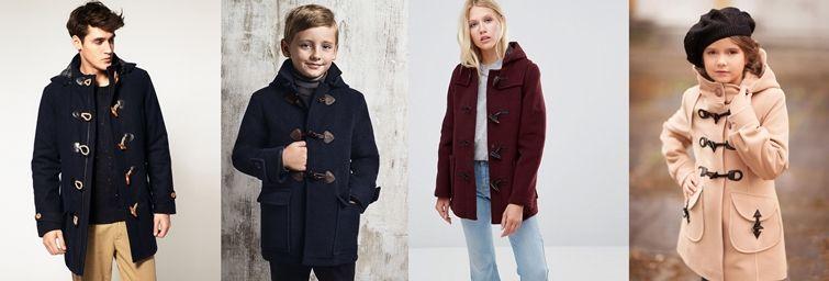 Разновидности пальто дафлкот