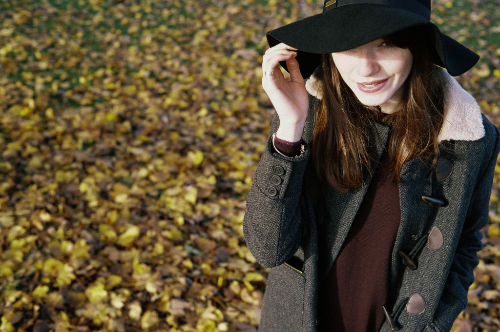 С чем носить дафлкот женщинам - фото 3