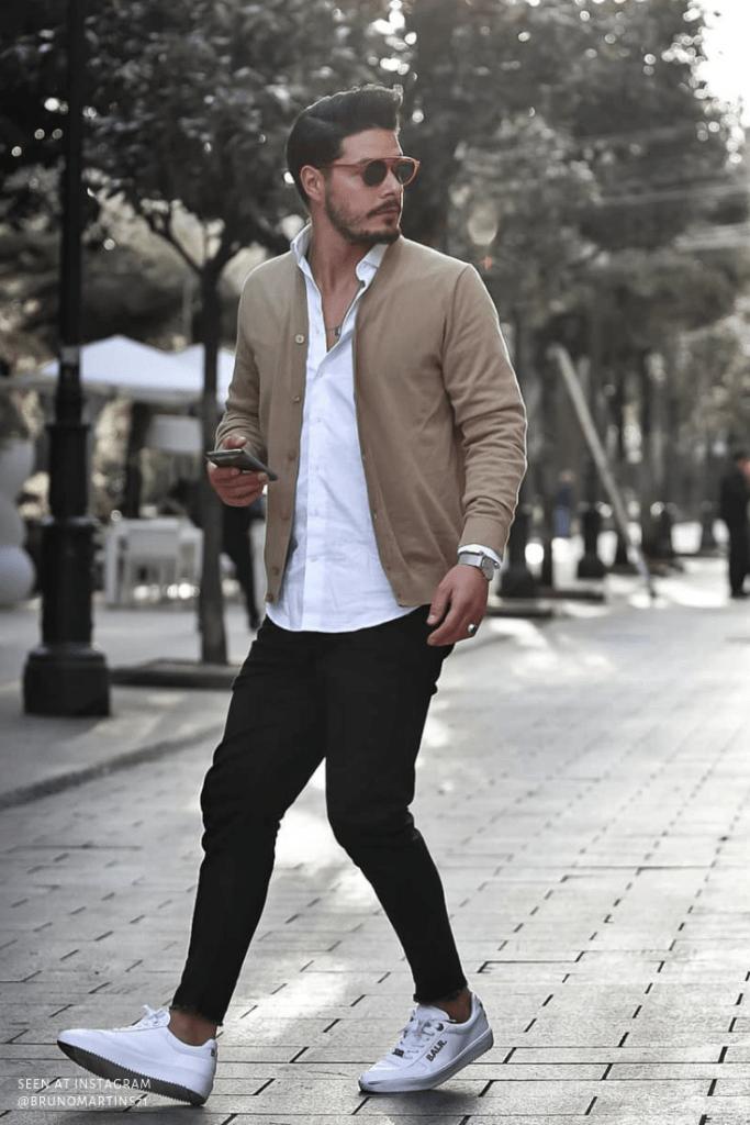 Джинсы скинни, модные образы 2020