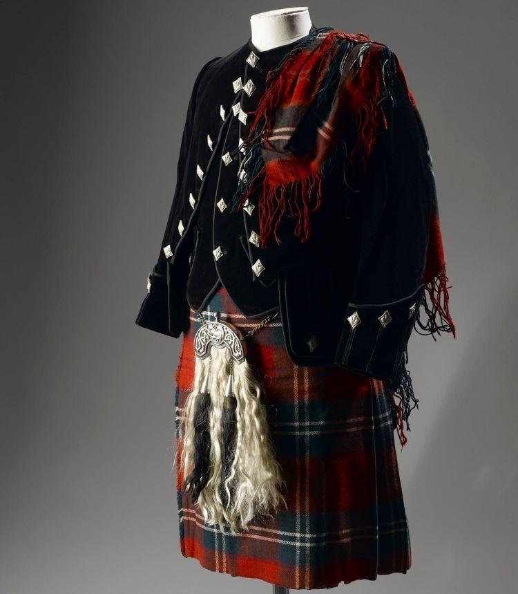 Шотландский килт - фото