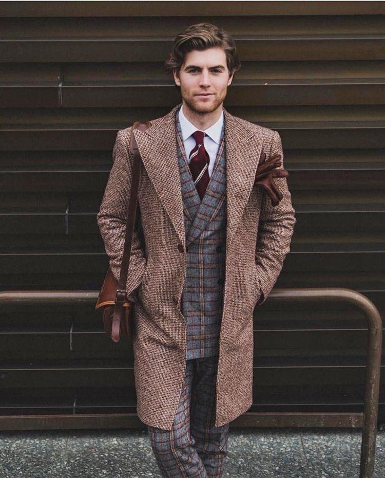 Ваше благородие: твидовые пиджаки и пальто