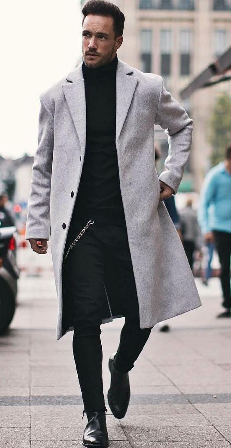 Твидовые пиджаки и пальто - фото