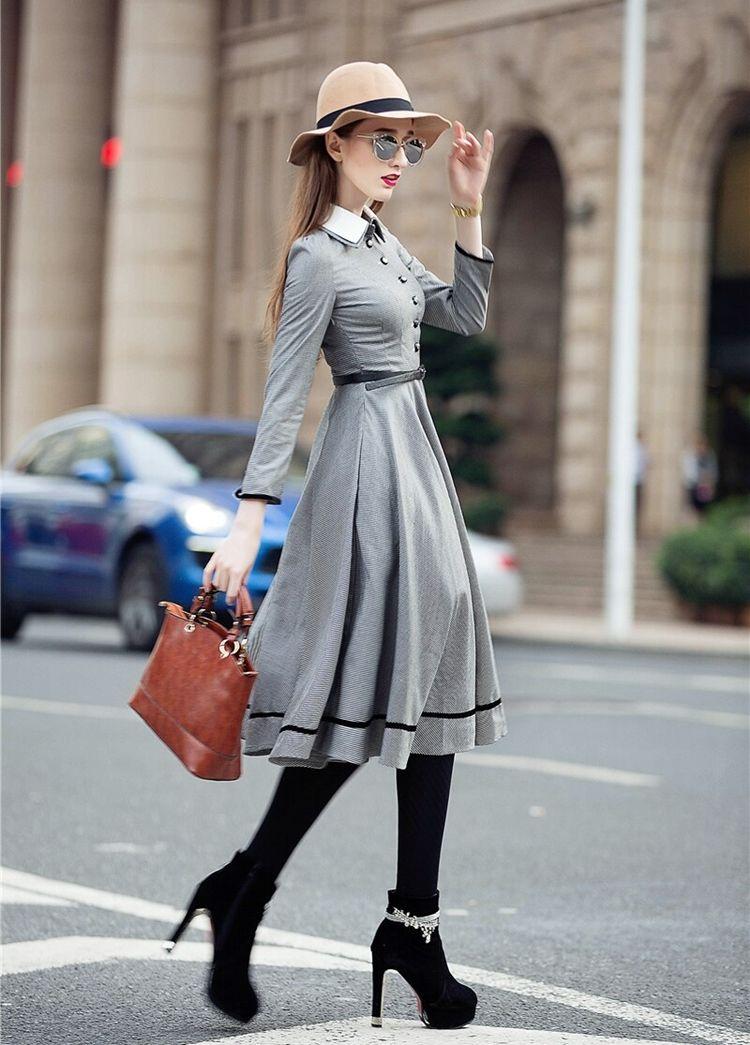 Английский стиль в одежде для женщин - фото