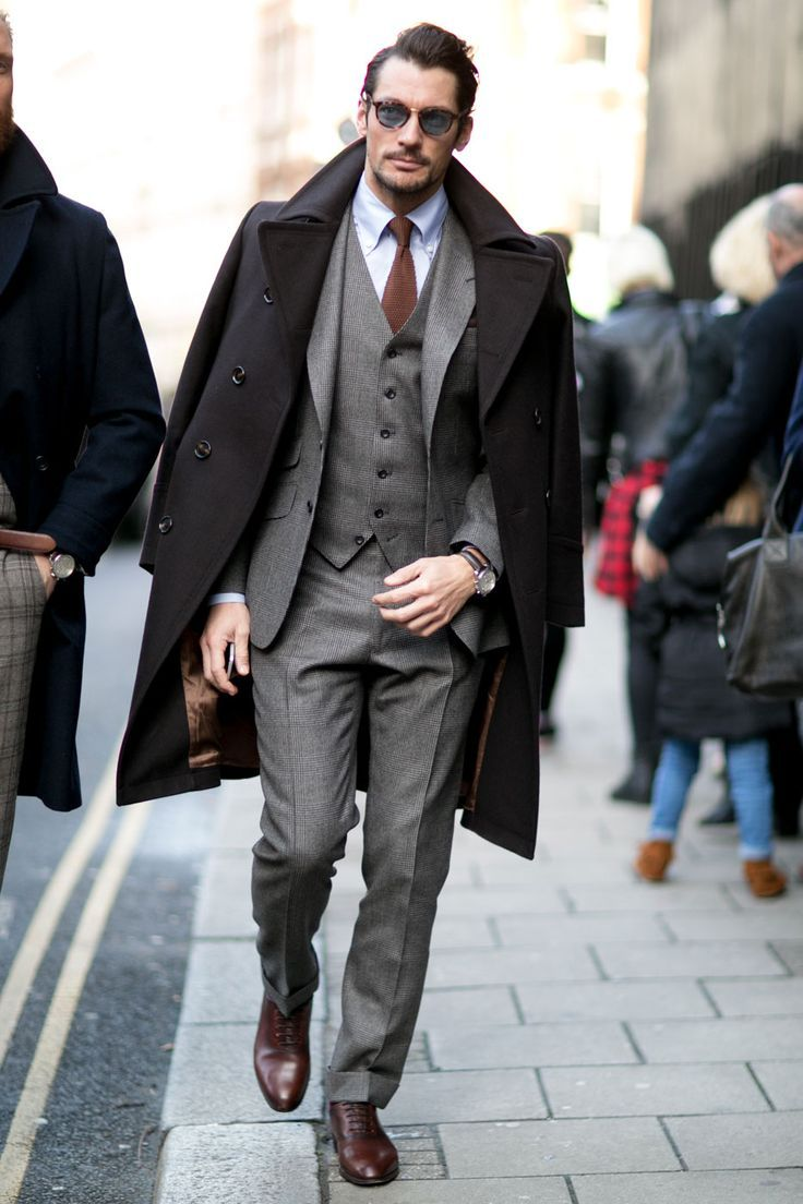 Английский стиль в одежде для мужчин