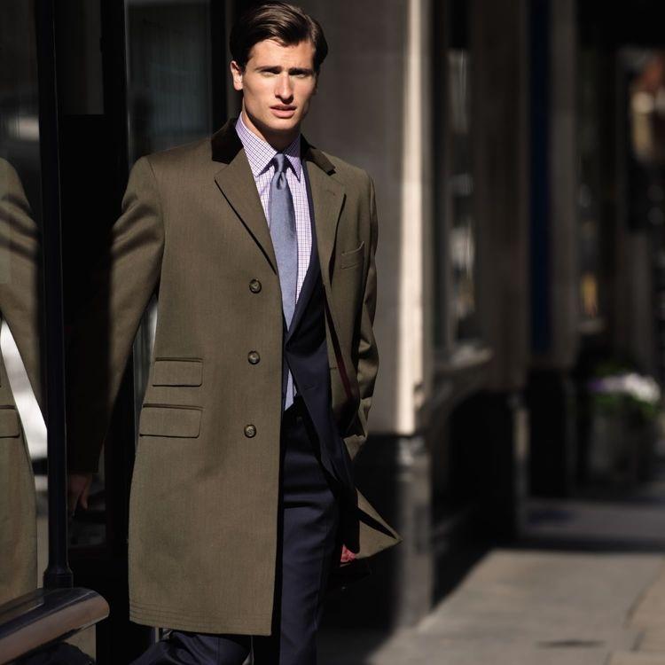 Англйский стиль - пальто честерфилд