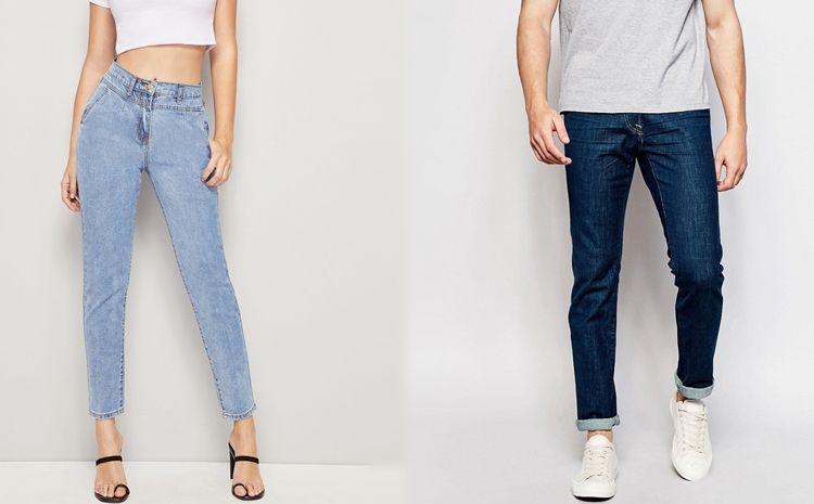 джинсы-сигаретки