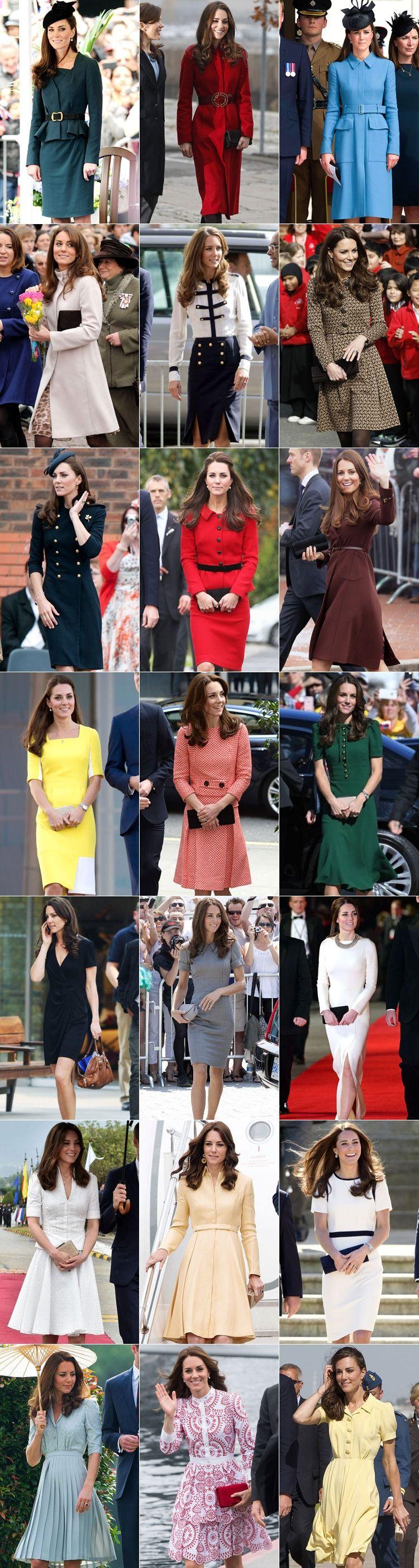 Кейт Мидлтон - английский стиль в одежде