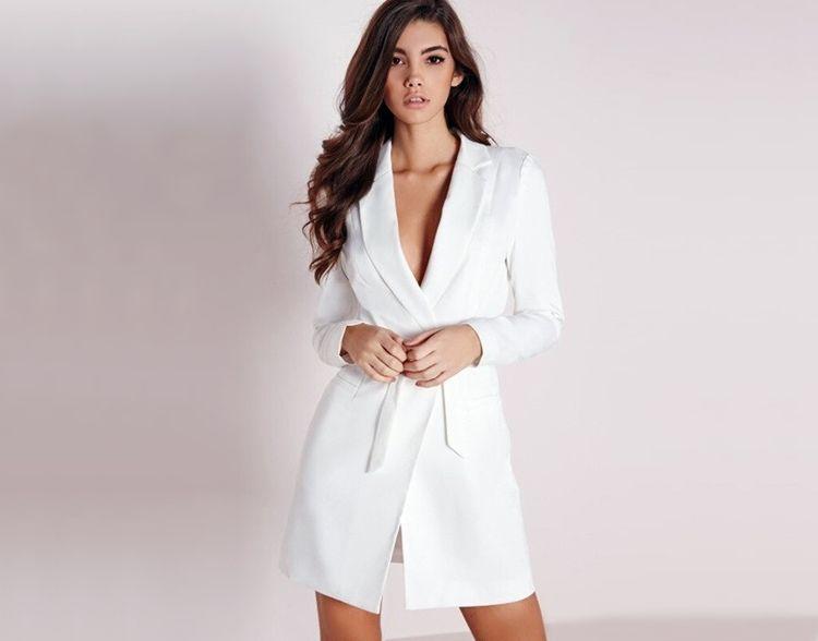 Платье-блейзер