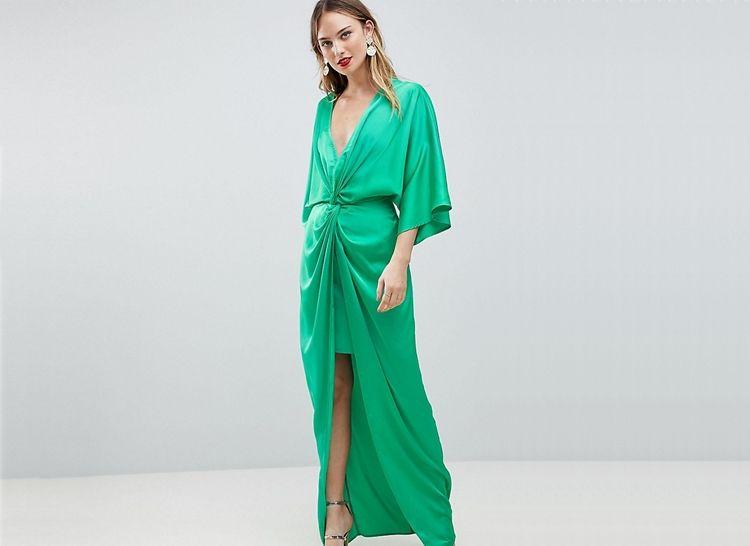 Платье-кимоно фото