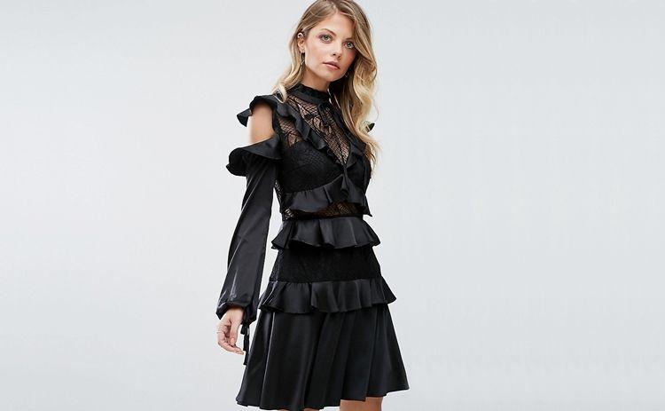 Платье-смок