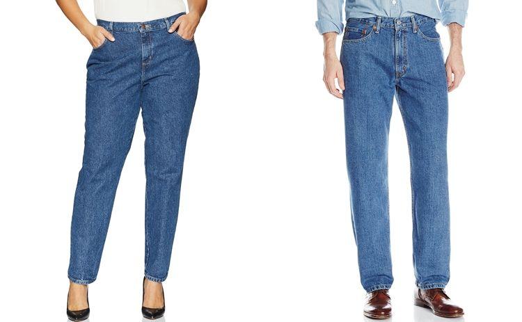Список всех видов джинс - Relaxed fit