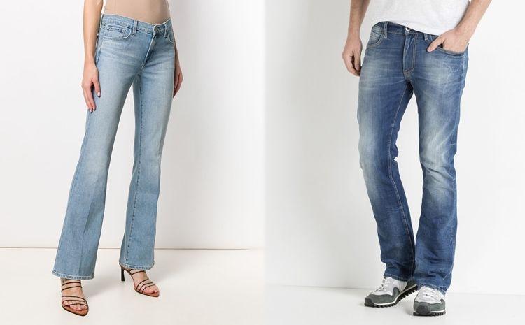 Все виды джинсов - Boot Cut