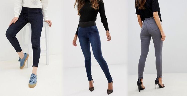 Все виды джинсов - Джеггинсы - фото