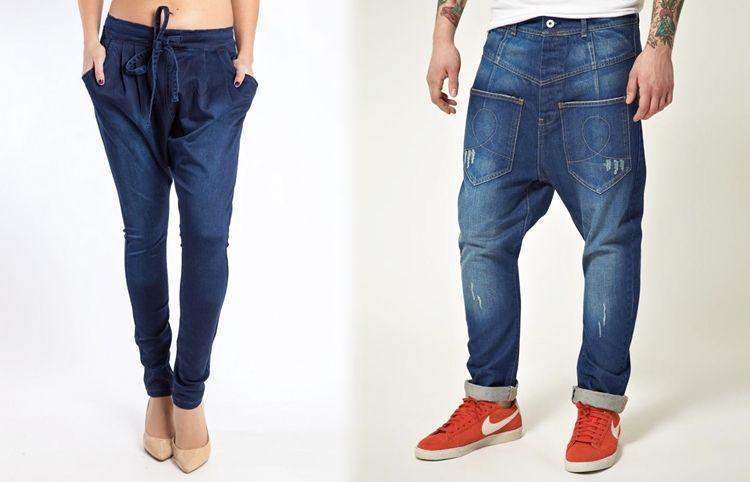 Все виды джинсов - Галифе