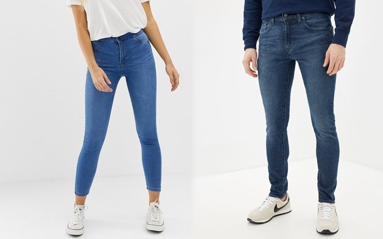 Все виды джинсов - Skinny