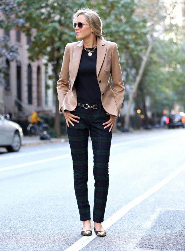 Женский пиджак в английском стиле