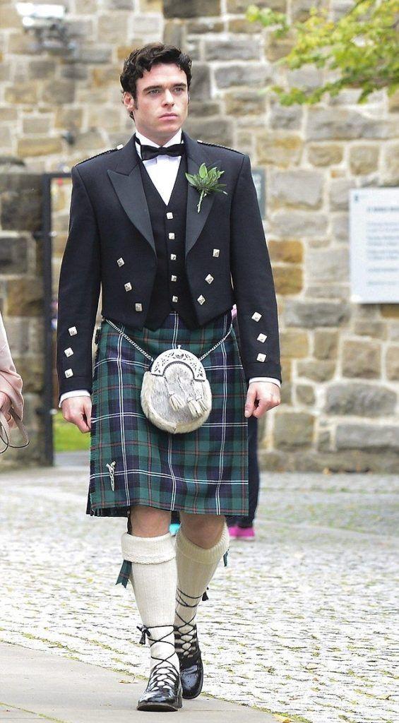Мода в клетку: шотландский килт