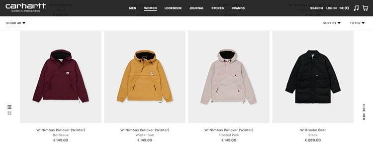 Лучшие бренды женских зимних курток