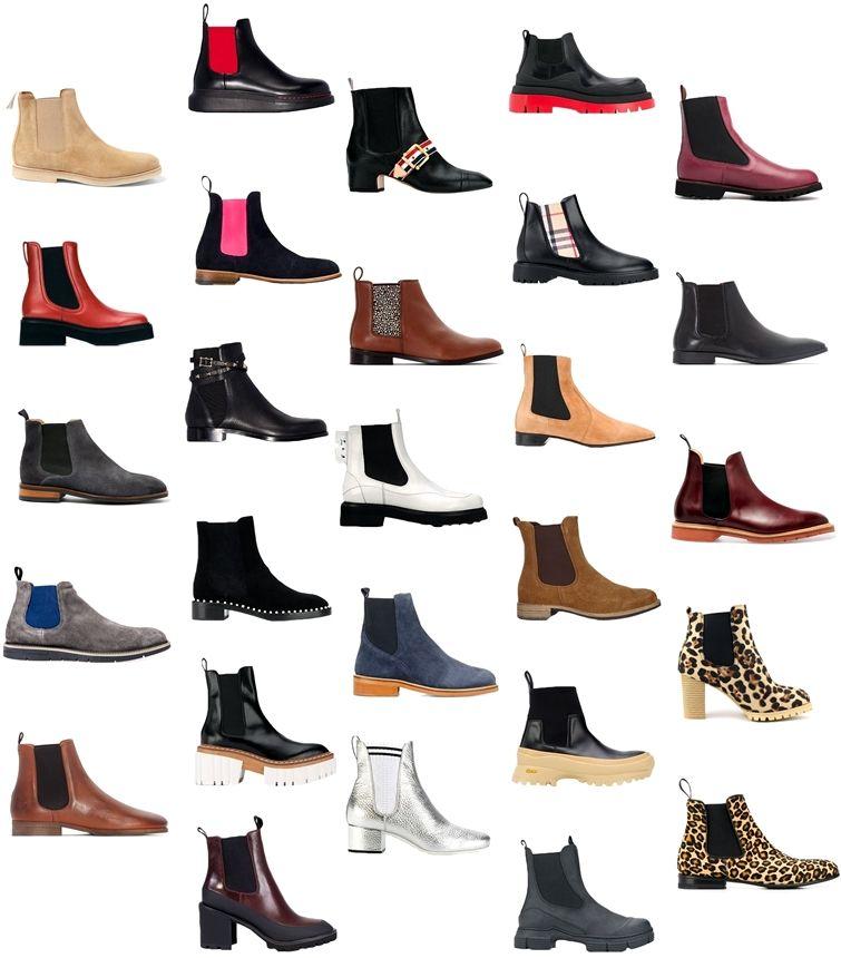 Обувь челси - фото