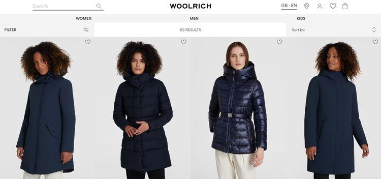 Зимние куртки Вулрич