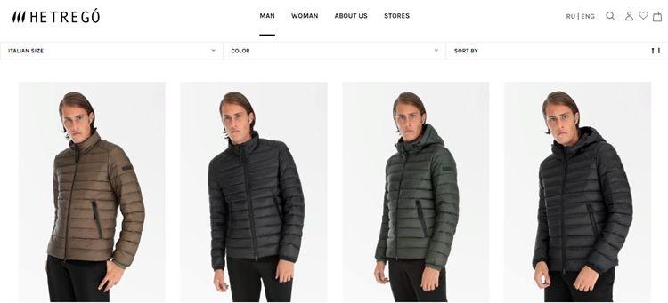 Список лучших брендов мужских зимних курток