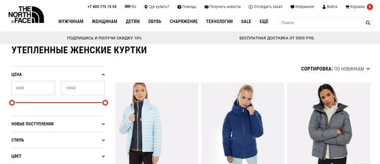 ТОП брендов женских зимних курток
