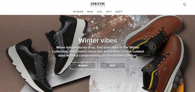 Бренды обуви - Geox