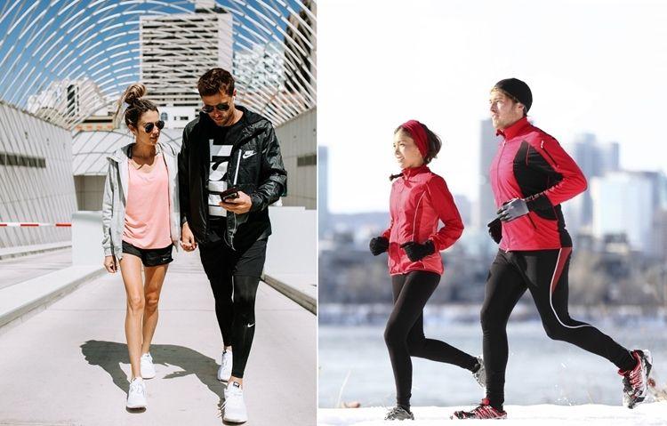 Одежда в спортивном стиле и спортивная экипировка