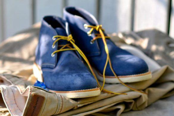 Обувь чукка и дезерты