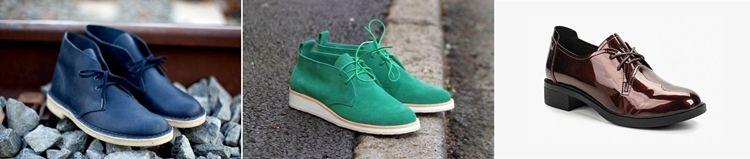 Виды женских ботинок чукка