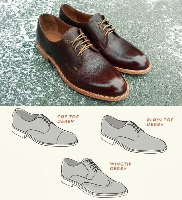 Класиическая мужская обувь - Дерби