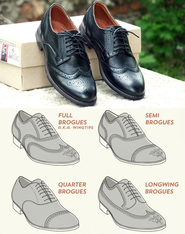 Классическая мужская обувь - полный список с фото