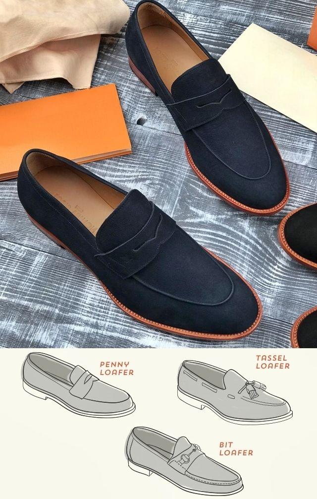 Мужская классическая обувь - лоферы