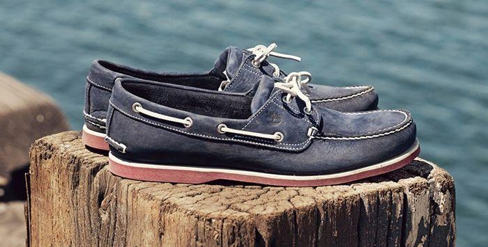 Виды классической мужской обуви - Топсайдеры