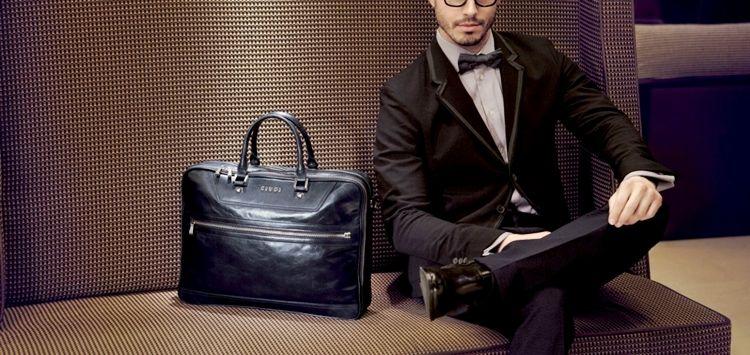 Мужская классическая сумка фото