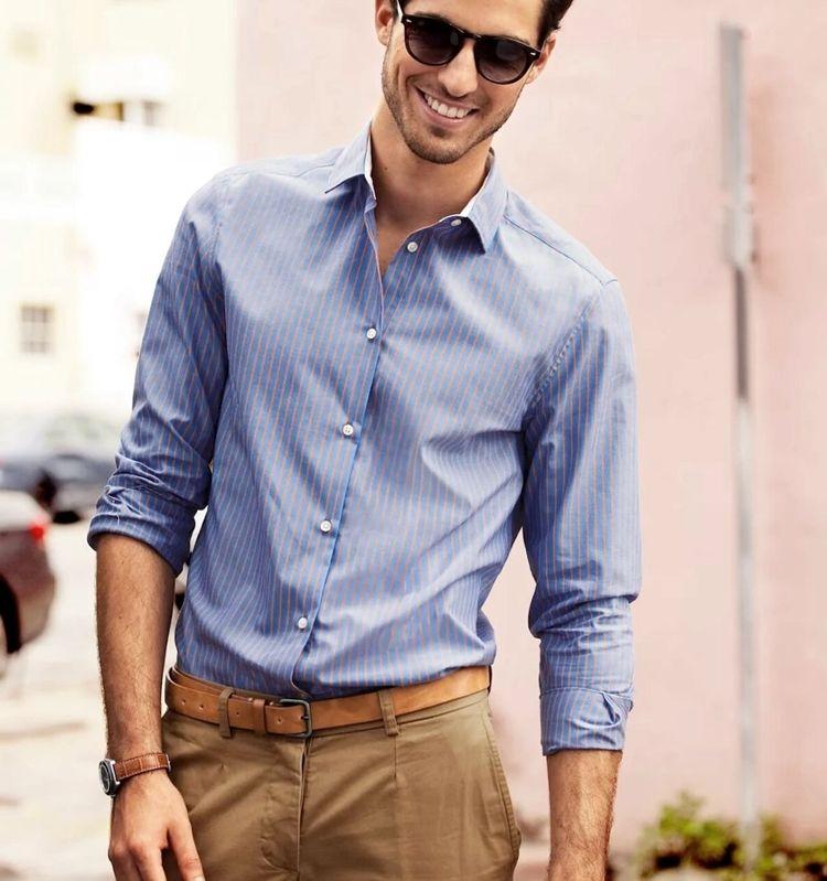 Мужская неформальная рубашка