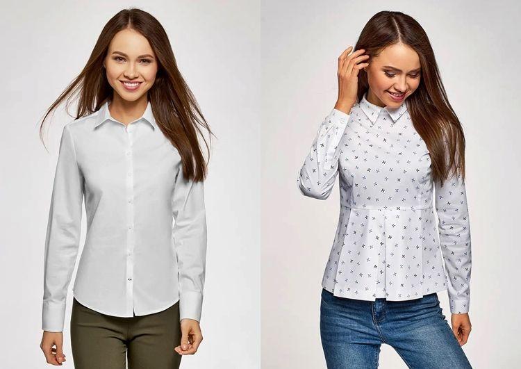 Разница между рубашкой и блузкой