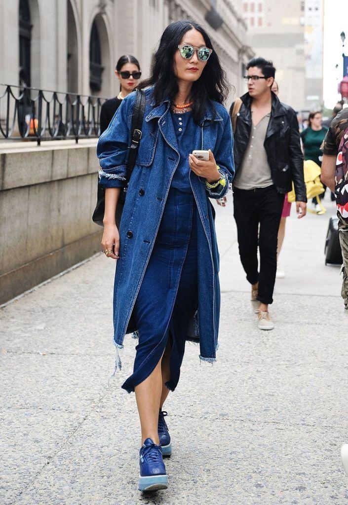 Джинсовый стиль в одежде для женщин и мужчин, образы, фото